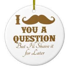 mustache puns ornaments keepsake ornaments zazzle