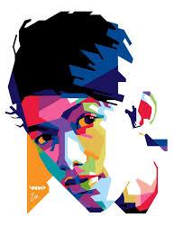 tutorial wpap lewat photoshop 36 best wpap wedha s pop art portrait images on pinterest pop
