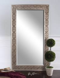 Uttermost Mirrors Dealers Xl French Silver Lace Mirror Wall Floor Dressing Large Full Length