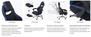best reclining office chair with footrest heavy duty office chairs