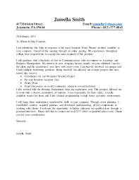 cover letter general cover letter new posts general