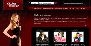 free webpage templates html 20 free and premium ecommerce shop html website templates and