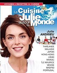 cuisine de julie amazon com coffret la cuisine de julie andrieu autour du monde vol