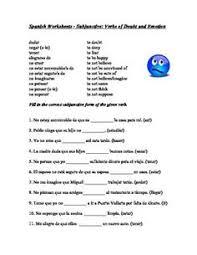 spanish reflexive verbs worksheet los verbos reflexivos