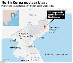 jobs for environmental journalists in tsar bomb the north korean bomb test that caused tremors in china daily