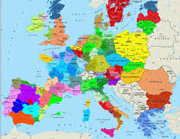 The Map Of Europe by United States Of Europe March 2015