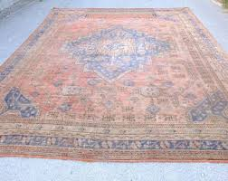 Big Rugs Vintage Floor U0026 Rugs Etsy