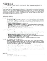 hospitality resume template best hospitality resume template corporate sales exles hotel