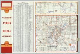 Map Indianapolis Shell Metropolitan Indianapolis And Vicinity Indianapolis