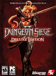 the siege 2 dungeon siege ii deluxe edition box for pc gamefaqs