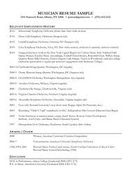 Musician Resume Examples by Music Education Resume Teacher Resume Examples 23 Free Word