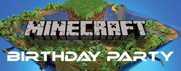 minecraft birthday party winter birthday party ideas minecraft themed birthday party
