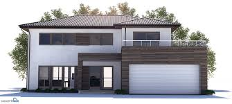 modern houseplans modern house plan to narrow lot