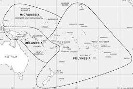 polynesia map of world cultural disparity and political solidarity in the melanesian