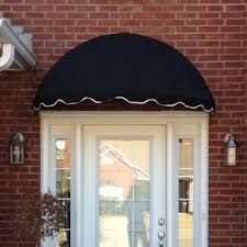 Cloth Window Awnings Dome Awnings Sunbrella Canvas Dome Awning Kits For Any Home Easyawn