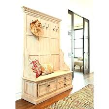 Foyer Table With Storage Entryway Storage Bench With Cushions Entry Benches Shoe