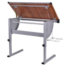 Architect Drafting Table Costway Rakuten Costway Drafting Table Drawing Desk Adjustable