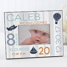 personalized baby picture frame sweet baby boy