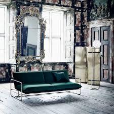 softline canapé canapé lit contemporain en tissu 2 places spirit by