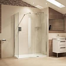 Wickes Bathrooms Showers Bathroomk In Shower Enclosure Stone Tray Enclosures And Trays With