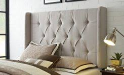 Full Fabric Headboard by Remarkable Queen Fabric Headboard Queen Upholstered Headboard For