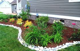 rock gravel landscaping ideas rock landscaping ideas with moon