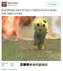 California Meme - twitter joke machine reacts to the extreme california heat with
