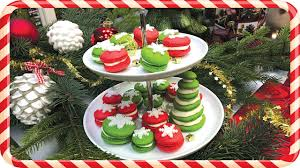 make best christmas macarons step by step guide youtube