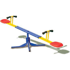 seesaw rocker rotating kids totter toddler play toys playground