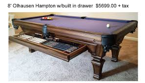 Pool Table Olhausen by Olhausen Pool Tables California Billiard Supply