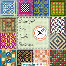 38 free quilt patterns favecrafts com