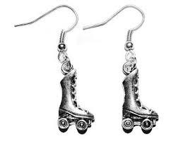 roller derby earring etsy