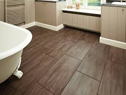 bathroom 16 brown bathroom linoleum flooring pattern vinyl