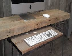 Wooden Home Office Furniture Reclaimed Wood Home Office Desks Recycled Things
