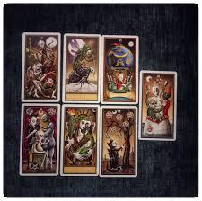 halloween tarot u2013 seven card spread