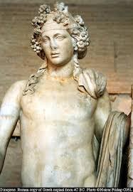 dionysus greek god statue greek god dionysus bacchus statue a roman copy of a hellenistic