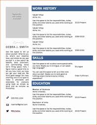 resume template word 2007 resume template word 2007 best of 6 free resume templates microsoft