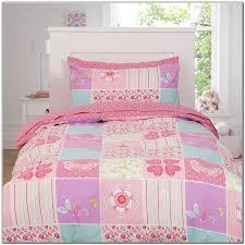 chic girls bedding sets pink girls lace princess pastoral bedding