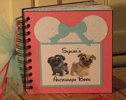 Personalized Dog Photo Album Disney Wedding Autograph Book Mickey And Minnie Mouse Wedding
