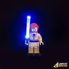 lightsaber toy light up led star wars lightsaber light blue light my bricks