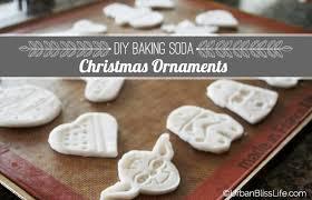 diy bliss baking soda ornaments bliss