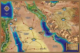 Arabian Desert Map Community St Cuthbert U0027s Oratory