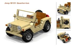 lego jeep wrangler instructions lego ideas jeep m151 quarter ton