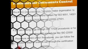iso procedure for document control youtube