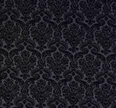 michael miller fabric dainty damask gray black ornament fabric