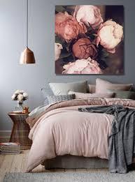 tableau pour chambre à coucher quelle toile déco dans une ambiance cuivrée