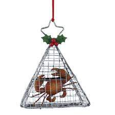 kurt adler wire hanging cage with crab