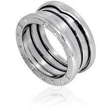 bvlgari rings images Bvlgari b zero1 18k white gold 3 band ring size 5 75 bvlgari jpg