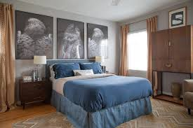 Curtains With Grey Walls Dark Wood Floors Grey Walls Bedroom Contemporary With Beige