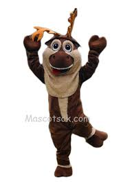 Quality Halloween Costumes Quality Realistic Popular Frozen Mascot Sven